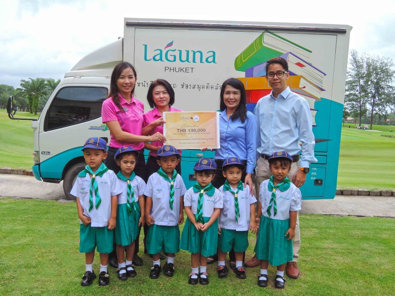 Phuket Hospitality Challenge - Donation Presented to Laguna Phuket Found...